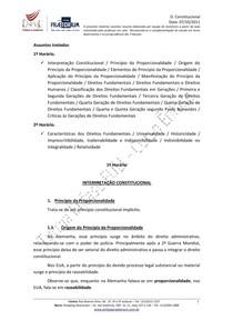 Resumo Direito Constitucional   Aula 09