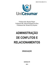 Administração e conflitos de relacionamentos_Cesumar