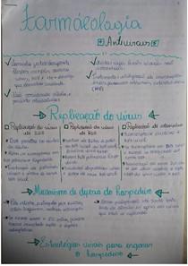 FARMACOLOGIA - ANTIVIRAIS