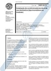 NBR 06675   1993   Instalação de Condicionadores de Ar de Uso Doméstico (tipo monobloco ou modula