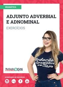 Exercícios de Adjunto Adverbial e Adnominal - Profa. Pamba - #ExclusivoPD