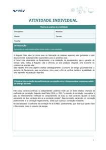 Atividade Individual 02 Métodos Quantitativos Aplicados a Corporate Finance