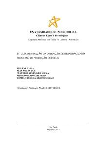 TCC Capittulo 3   OTIMIZAÇÃO DE PROCESSO