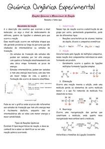 Reações Químicas e Mecanismos de Reação