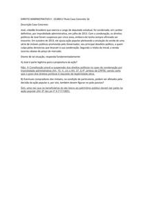 DIREITO ADMINISTRATIVO II - CC 16