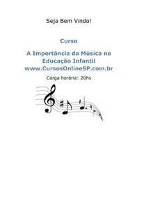 Importancia da musica na educação infantil