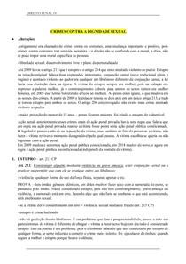 Resumo Direito Penal IV