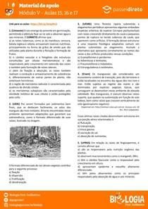 Módulo 5 - aula 15 16 17 - Morfologia de Raiz, Caule e Folha