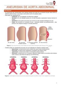 Aneurisma de aorta abdominal - resumo