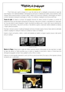Métodos de localização radiolográfca