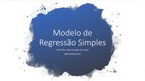 REGRESSÃO SIMPLES