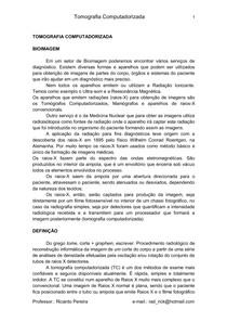 Tomografia Computadorizada - Apostila - 52p
