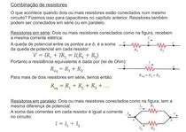 Combinação de resistores - Resistores em série e em Paralelo - Eletromagnetismo - Física