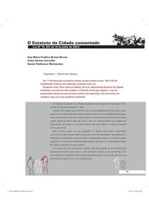 ESTATUTO DA CIDADE COMENTADO   EDITADO