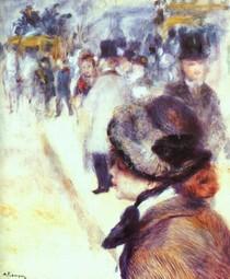Pierre Auguste Renoir - Place-Clichy