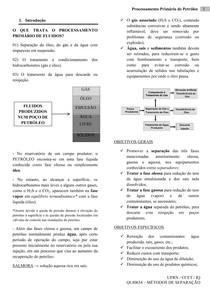 APOSTILA - PROCESSAMENTO PRIMÁRIO DE PETRÓLEO