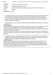 Avaliação Final Discursiva - Contabilidade Intermediaria