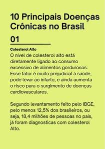 10 principais doenças crônicas no Brasil