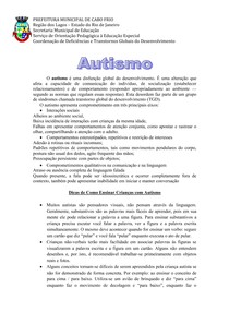 caderno pedagogico autismo