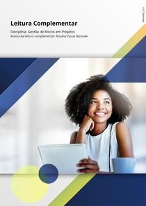 Leitura Complementar - Gestão de riscos em projetos - UNOPAR