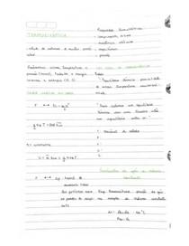 Notas de aula - termodinâmica - física II