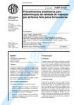 NBR 5428 NB 309 03   Procedimentos estatisticos para determinacao da validade de inspecao por atr