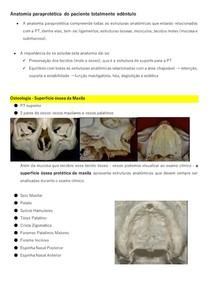 3 - ANATOMIA PARAPROTÉTICA DO PACIENTE TOTALMENTE EDÊNTULO