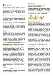 citoesqueleto biologia celular