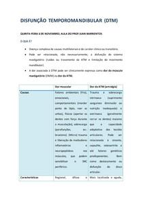 Métodos diagnósticos em DTM - Disfunção Temporomandibular