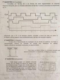 AV2 A Provas AV1 AV2 AV3 2017 CIRCUITOS DIGITAIS Alexandre Baptista Estácio Niterói