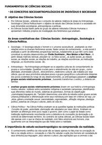 01-OS CONCEITOS SOCIOANTROPOLÓGICOS DE INDIVÍDUO E SOCIEDADE
