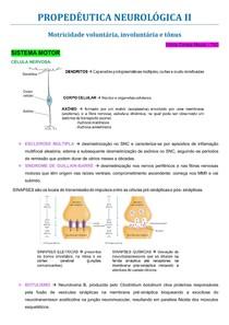 PROPEDÊUTICA NEUROLÓGICA - parte 2