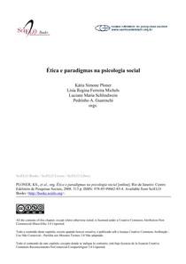 Eticas e Paradigmas da Psic. Social (livro)