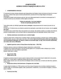 AS REVOLUÇÕES   ESTADOS UNIDOS E FRANÇA DO SÉCULO XVIII