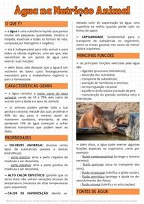 Água na Nutrição Animal