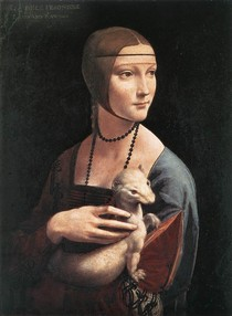 Leonardo Da Vince - Lady with an Ermine