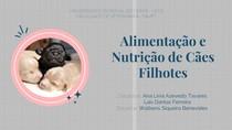 Alimentação e nutrição de cães filhotes