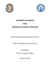 2012GARNO-AZDPI-EQ-UFRJ-CriteriiosdeProjetoparaMoinhosdeCimentoPortland