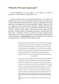 Introdução a Filosofia - Filosofia_ Por que e para que (1)