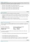 QUALIDADE - Questionário 1 e 2