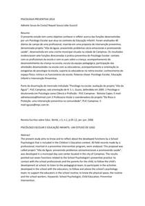PSICOLOGIA PREVENTIVA 2014