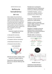 Biofísica da hemodinâmica
