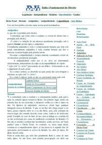 DJi - Ilicitude - Antijurídico - Ilícito Penal - Antijuridicidade