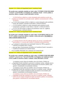 Política de Seguridade Social Assistência Social 3 Luananunes