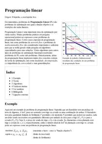 Programação linear – Wikipédia  a enciclopédia livre