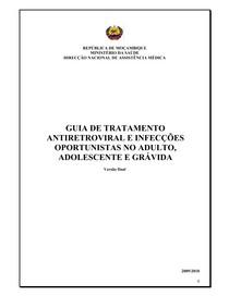 Guia de Tramento Anti Retroviral e Infecções Opurtunistas no Adulto, Adolescente e Grávida