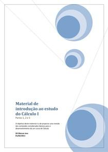 Material de introdução Calculo I
