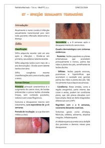 IST - Infecções Sexualmente Transmissíveis