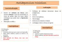 indicações e contraindicações dos antidepressivos triciclicos