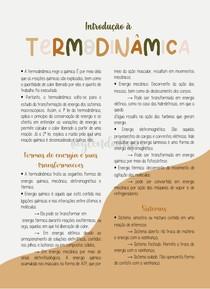introdução à Termodinamica
